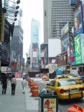 TIMES SQUARE WAS TWO BLOCKS FROM OUR HOTEL