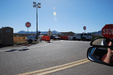 THE FIRST BORDER PATROL CHECK POINT ON THE WAY TO THE MEXICAN BORDER