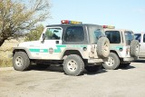 THE GREEN AND WHITE ARMY OF THE BORDER PATROL