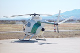 THE BORDER PATROL USES HELICOPTERS WITH INFRARED SENSORS