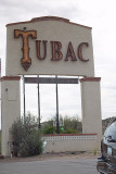 THE ARTIST COLONY OF TUBAC WAS A FEW MINUTES FROM OUR RV PARK