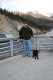 IT WAS COOL WHILE WE WERE IN THE DENALI PARK AREA-BUT NO BUGS AND FEW FELLOW TRAVELERS..