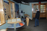THE NEW VISITOR'S CENTER HAD MANY INFORMATIVE DISPLAYS ABOUT THE PARK AND ITS HISTORY