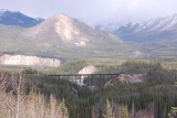 SARA TOOK THIS SHOT OF THE RAILROAD BRIDGE AS WE LEFT DENALI SADLY FOR THE LAST TIME