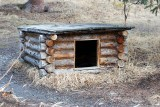 THIS WAS A DOG HOUSE AT THE PARK KENNEL