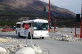 ONE OF THE MANY PRINCESS LINE BUSES MOVING CRUISE CUSTOMERS TO ONE OF ITS LODGES