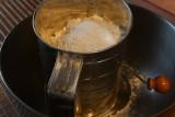 Sift flour, baking soda & baking powder