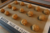 Place on cookie sheet
