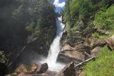 Waterfall on Serebryanka river