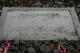 Charles Lindbergh's grave site
