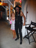 Entering Cowboy Bill's on Duval St