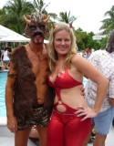 Horns at Dante's Pool Party