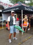 Happy Fisherman on Duval St.