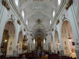 Inside Kalocsa Cathedral