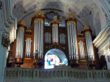 We Enjoyed a Pipe Organ Concert in Kalocsa Cathedral