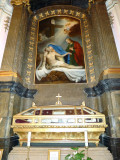 Our Lady of Sorrows Altar in Kalocsa Cathedral