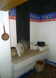 Kitchen in House of hungarian Folk Art
