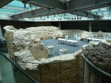 Walls of 4th Century Christian Cemetery Excavation in Pecs
