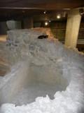 Cat in the 4th Century Ruins in Pecs