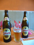Drinking Local Beer in Pecs, Hungary
