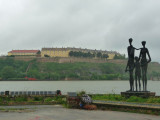 Novi Sad Memorial to Victims of Holocaust (2,000 killed in three days)