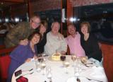 Jo-Anne, Bruce, Helena, Brian, Bill & Susan at Dinner
