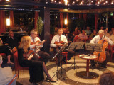 Belgrade String Quartet Playing without Bows