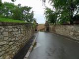 Entering Kalemegdan Fortress in Belgrade, Serbia
