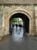 Inner Gate of Kalemegdan Fortress in Belgrade