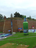 Party Area inside Kalemegdan Fortress for World Cup Game Against Australia