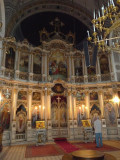 Altar in Cathedral of St. George  in Novi Sad