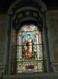 Stained Glass in Cathedral of St. George  in Novi Sad