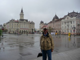 Freedom Square in Novi Sad, Serbia