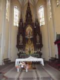 Inside The Name of Mary Church in Novi Sad