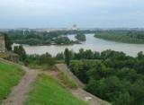 Kalemegdan Fortress Overlooks the Confluence of the Danube & Sava Rivers