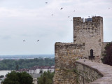 Walls of Kalemegdan Fortress, Belgrade