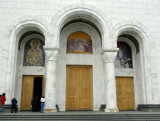 Entrance to the Cathedral of Saint Sava, Belgrade