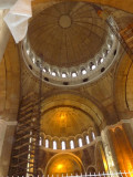 Dome of the Cathedral of Saint Sava Under Renovation