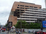 Another Bombed Out Building from NATO Attacks on Belgrade in 1999