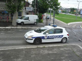 Belgrade Police Car