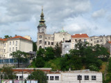 Belgrade with Steeple of St. Michael's Cathedral in Background