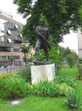 Pirate Statue in Belgrade