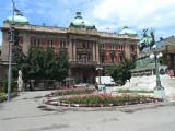 National Museum & Statue of Prince Michael (Main Square in Belgrade)
