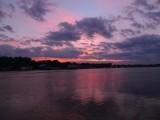 Leaving Belgrade, Serbia at Sunset