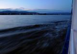 Speeding Along on the Danube Early Morning