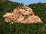 Rock Outcropping Along the Danube