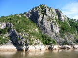 High Water Mark on Rocks on the Danube