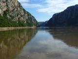 Iron Gates of Danube Between the Carpathian Mountains (Romania) & the Balkan Mountains (Serbia)