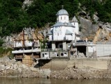 Mraconia Monastery (founded 1453) on Romanian Side of Danube
