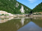 Statue of Decebalus (King who ruled the Dacians from 87 to 106 A.D.)